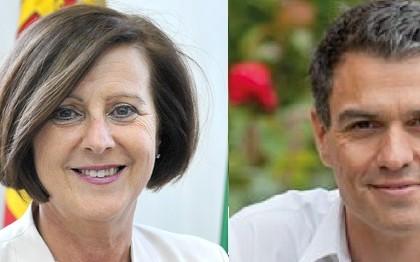 Pedro Sanchez y Maria Jose Sanchez Rubio