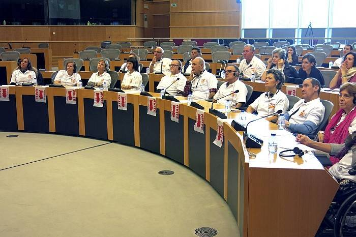 Afectados Talidomida eurodiputados