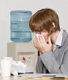 Gripe baja laboral