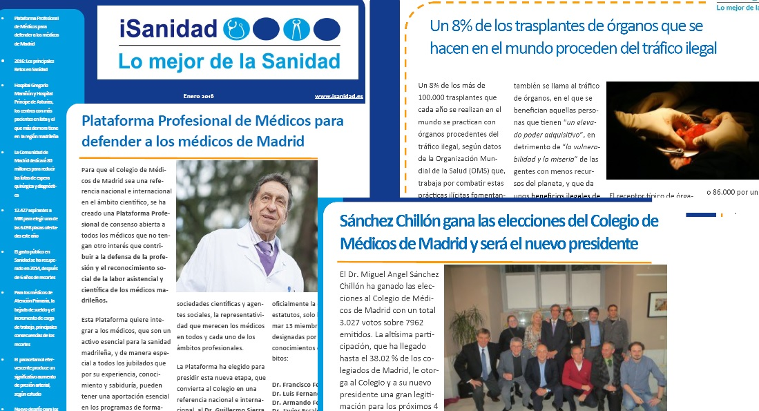 iSanidad. Lo mejor de la Sanidad