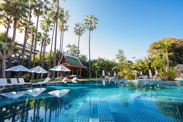 Piscina Hotel Botanico